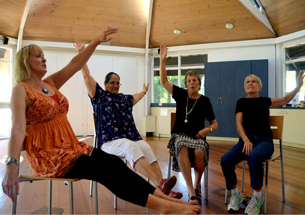 Fun Fitness for Brain and Body (Ageless Grace) – Monday (via ZOOM)