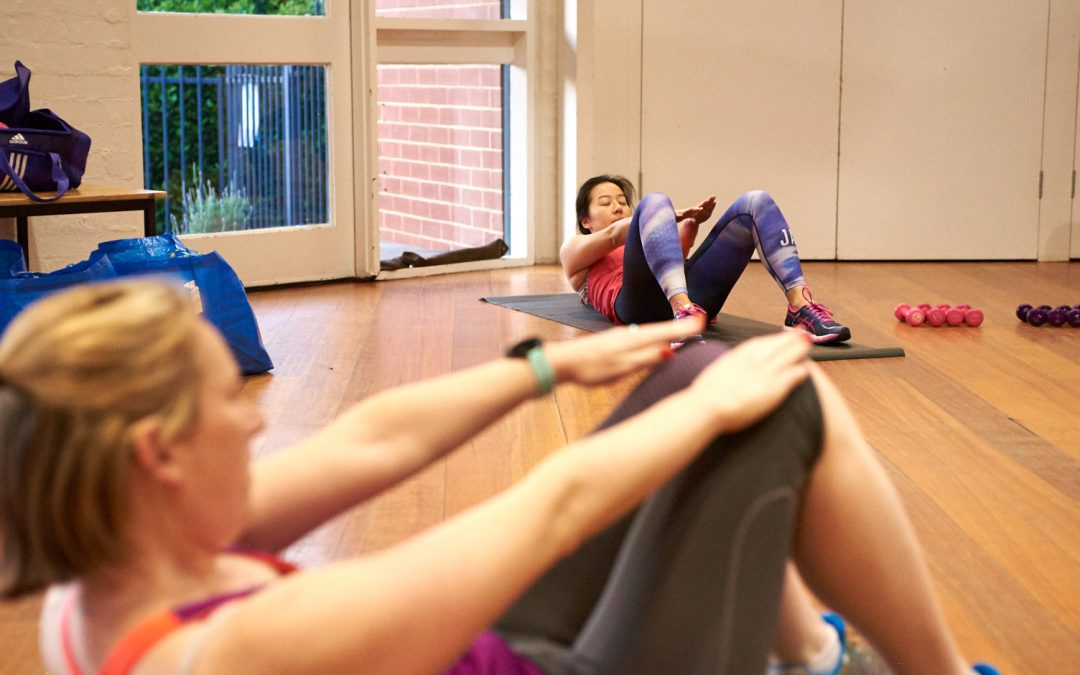Pilates with a Twist – NEW