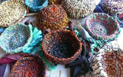 Make a Coiled Basket