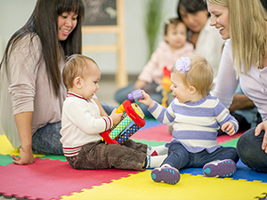 NEW Connect and Play – for carers and babies under 12 months of age.